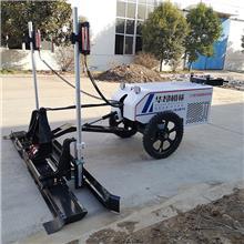 山東華昂機械 工業園地面激光整平機 手扶兩輪激光找平機 混凝土攤鋪機