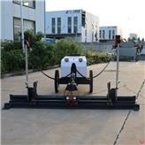 自动控制激光整平机  路面自动找平机 四轮水泥汽油震动摊铺机