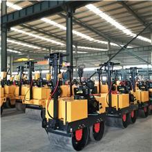 厂家供应柴油振动碾 手扶双轮压路机 450小型压路机价格