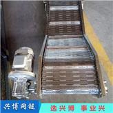 链板输送机_兴博网链_塑料链板输送机_制造