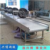 链板输送机_兴博网链_不锈钢链板提升机_出售