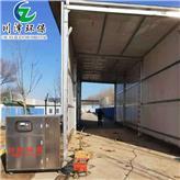 川泽环保 动物防疫检查站车辆消毒通道 全自动车辆消毒设备