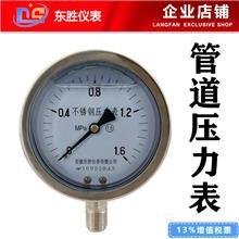 管道壓力表價格 管道壓力儀表 0-1.6MPa Y-100B