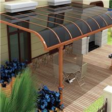铝合金雨棚定制 亿贝特 耐力板家装材料