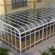 鋼化玻璃房定制 陽臺房安裝價格 建材家裝