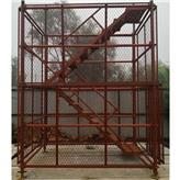 宁河区厂家直供施工安全爬梯 桥梁桥墩施工安全爬梯 100型爬梯 阜城鑫达直供