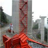 滨海新区厂家直供施工安全爬梯 桥梁桥墩施工安全爬梯 100型爬梯 阜城鑫达直供