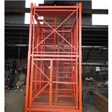 宝坻区厂家直供施工安全爬梯 桥梁桥墩施工安全爬梯 100型爬梯 阜城鑫达直供
