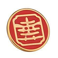 金属勋章胸章定制 潮州纪念烤漆校徽 徽章定制 制做徽章