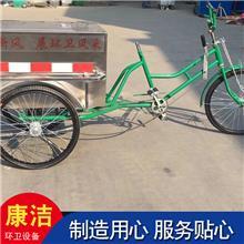 人力环卫三轮车 不锈钢人力环卫三轮车 街道清扫自卸垃圾车  来电咨询