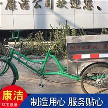 街道清扫自卸垃圾车  环卫保洁三轮车  不锈钢车厢环卫车 来图供应