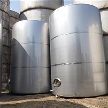 出售二手304材质不锈钢储存罐20立方葡萄酒立式储罐