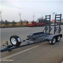 微型挖掘机拖车 越野拖车价格 圣恒机械 摩托车拖车定制