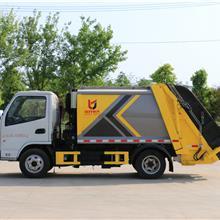 厂家直销大型垃圾收集车 质量可靠 鲁班制造东风多利卡5吨压缩垃圾车 厂家报价