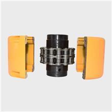 加工定制非标链条联轴器 工业机械设备用耐磨滚子链联轴器