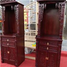 老榆木佛柜 神龛 老榆木实木家具 明清仿古佛龛 实木供桌供台