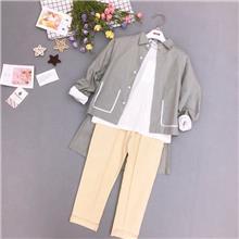 艾尚青苹果童装内衣批发市场 外贸批发童装 小贝壳品牌女童服装