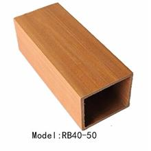 木塑矩形骨_ 环保家装吊顶材料多规格u型卡扣天花_欢迎下单