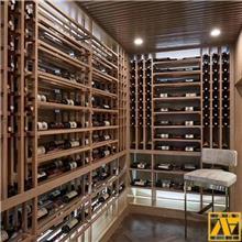 葡萄酒柜_盛诺_酒吧餐厅展示酒柜