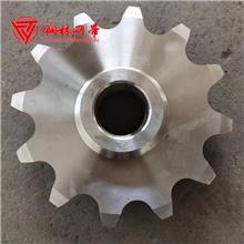 链轮 铜林定制牙盘不锈钢双排链轮 工业链轮齿轮 非标定制机械传动轮