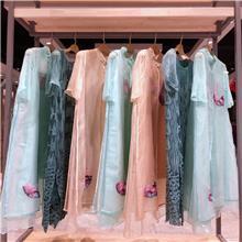 梁姐 2020夏季真丝连衣裙 棉麻衣服进货渠道 沙鱼服装 石狮服装网 简洁大方的连