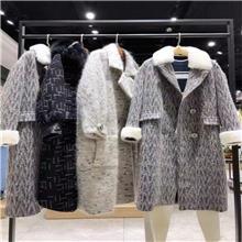 奥朗朵  冬季 皮草大衣卖衣服去哪里进货 服装批发商进货渠道 女服装厂家直接拿货
