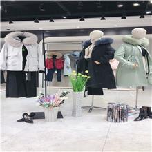 美潮之都  2020冬季皮草派克服 厂家直销一手货源女装 服装批发市场 服装批发商进货