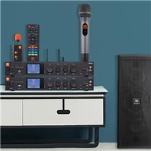 JBL AMP會議室功放音響套裝舞臺無線麥克風頸掛CV1610-PAK音箱