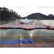 陕西水上舞台-水上环境工程设计厂家-昌正环保有口皆碑