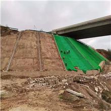 公路绿化网坡面撒种防护固土网垫出售山坡园林种草护坡三维植被网现货销售