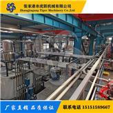 塑料制品地板墙板管材型材板片材生产线自动供料上料称重配混设备