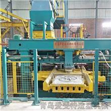 造型生產線 球墨鑄鐵生產線 自動造型機械設備 粘土砂工藝自動造型靜壓線