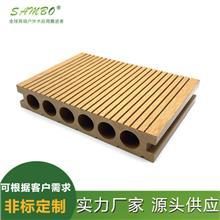 室外园林工程木塑地板 森保 140*20 新型户外家装建材 实力厂家
