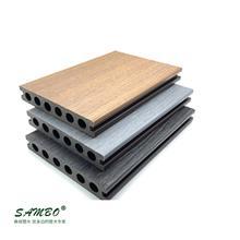 市政园林工程公园栈道木塑板材 森保 150*50空心塑木地板 新型户外家装建材 定制批发