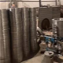 不銹鋼法蘭盤 風管與法蘭焊接 國標法蘭 法蘭連接器 滄鹽制造