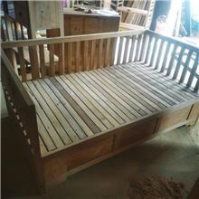 古典中式椅子 中式客厅置物架 老榆木实木家具 现货直销