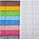 墙面软包墙贴3D立体效果 防撞墙纸批发厂家