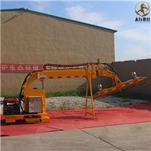 石家庄公路绿化带修剪机 云南重庆高速中分带绿篱整形机