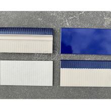 陶瓷蓝色泳池砖厂家 供应米黄色防滑砖 抓手砖配件阴阳角