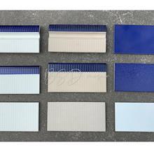 泳池池岸蓝色防滑砖 蓝色240*115泳池砖现货供应