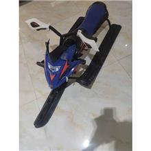 滑雪车 儿童雪地摩托车 多功能电动滑雪车 雪地用品