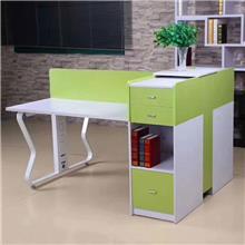 昆明商务办公设备 钢旦 松花色钢架办公桌报价 办公家具 办公用品