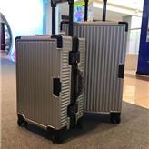 全铝框拉杆箱行李箱女超静音万向轮旅行商用男密码箱皮箱定制代发演出道具箱