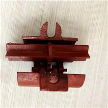 扣件建筑用鋼管腳手架十字轉向旋轉接頭48mm連接件國標外架緊固件