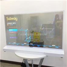华金智能 55寸高清OLED显示屏 4K超高清OLED透明屏 透明多媒体一体机