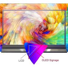 55寸oled透明屏 超薄OLED壁纸屏 华金智能供应透明屏 源头厂家