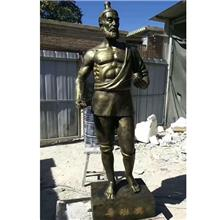 带底座鲁班铜像雕塑 传承匠心校园名人雕塑摆件