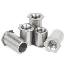 厂家现货供应碳钢镀锌压铆螺母柱 304不锈钢螺柱规格齐全量大从优