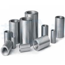 緊固件鋼筋接駁器預埋螺紋鋼標準件國標連接接頭直螺紋 鋼筋套筒