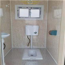 户外临时卫生间生产厂家  广东中山简易移动厕所厂家定做